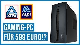 Aldi-Gaming-PC für 599 € - Taugt er zum ZOCKEN? | Medion Akoya P56005