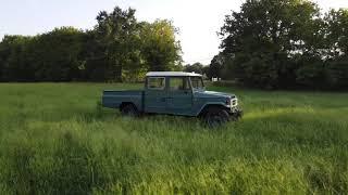 0013 - 1992 Toyota Bandeirante OJ55LP2BL Double Cab Metal Bed Truck (Barn - Cartersville, GA)