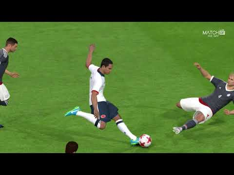 COLOMBIA VS PARAGUAY 2017 / Full Match / Gameplay