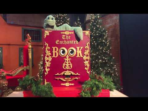 Interactive entertainment at Dickens' Christmas Towne