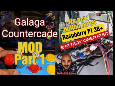 Arcade1Up V2\Gen 2 Countercade Mod  Overview - Part 1 from Detroit Love