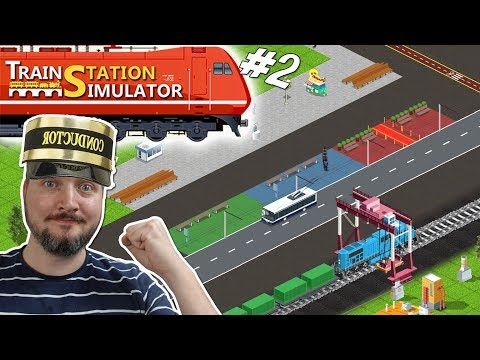VIP OG NYE BUSSER! - Train Station Simulator Dansk Ep 2