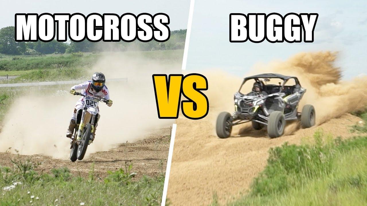 DEFI : MOTOCROSS vs BUGGY  (feat. François Thorel & Adrien Goguet)