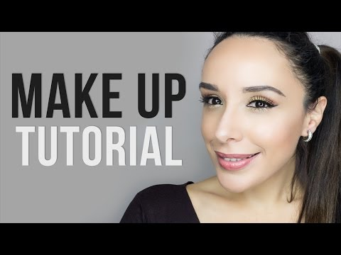 Spring Warm-Toned  Make up Tutorial+Nude glossy lips|Beautissimi