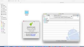 Speed Test of copy Files from Android Phone to MAC OS X macOS Sierra MacBook Pro