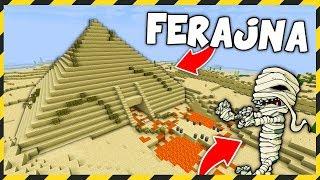 Minecraft FERAJNA: ŚWIĄTYNIA DOKNESHAMONA! *tego się nie spodziewałem*