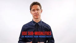 NLP Sub-Modalities: A Powerful Tool To Increase Your Productivity