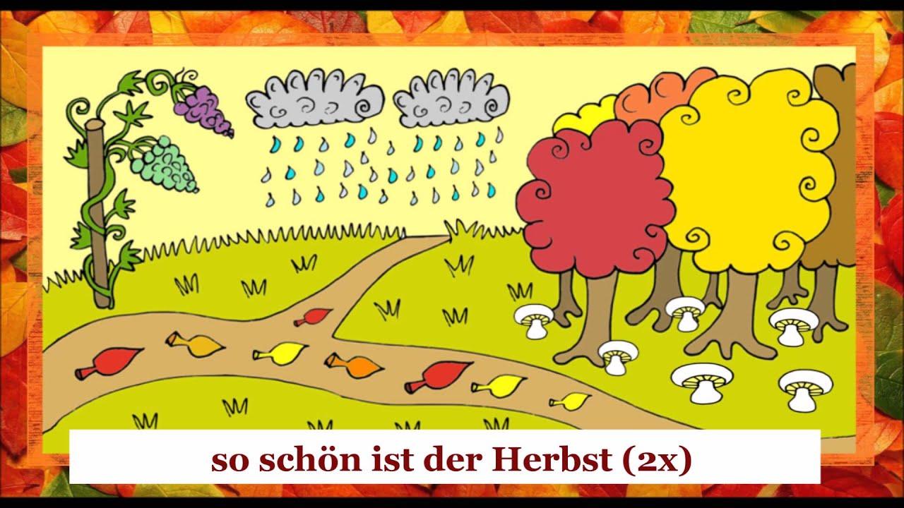 Der Herbst bringt uns Trauben - ein Lied (+ text + traduction + ...