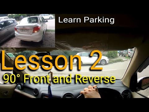 Parking Lesson 2   Side Parking   Indian Driving School