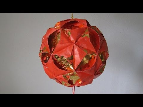 Cny tutorial no 4 how to make a ornamental hong bao for Ang pao fish tutorial