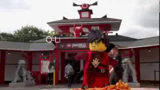 Legoland queue line ineractive