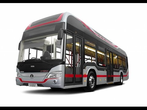 Tata Motors & ISRO  Reveals India's First Hydrogen Fuel Cell Bus In INDIA