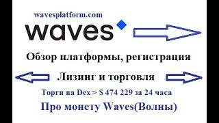 Wavesplatform.com - обзор, регистрация, торговля и сдача в лизинг