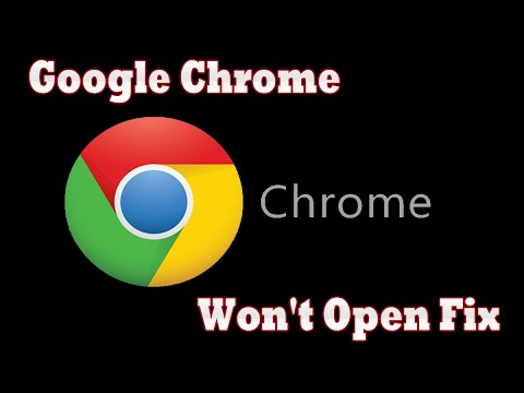 Problem in opening google chrome