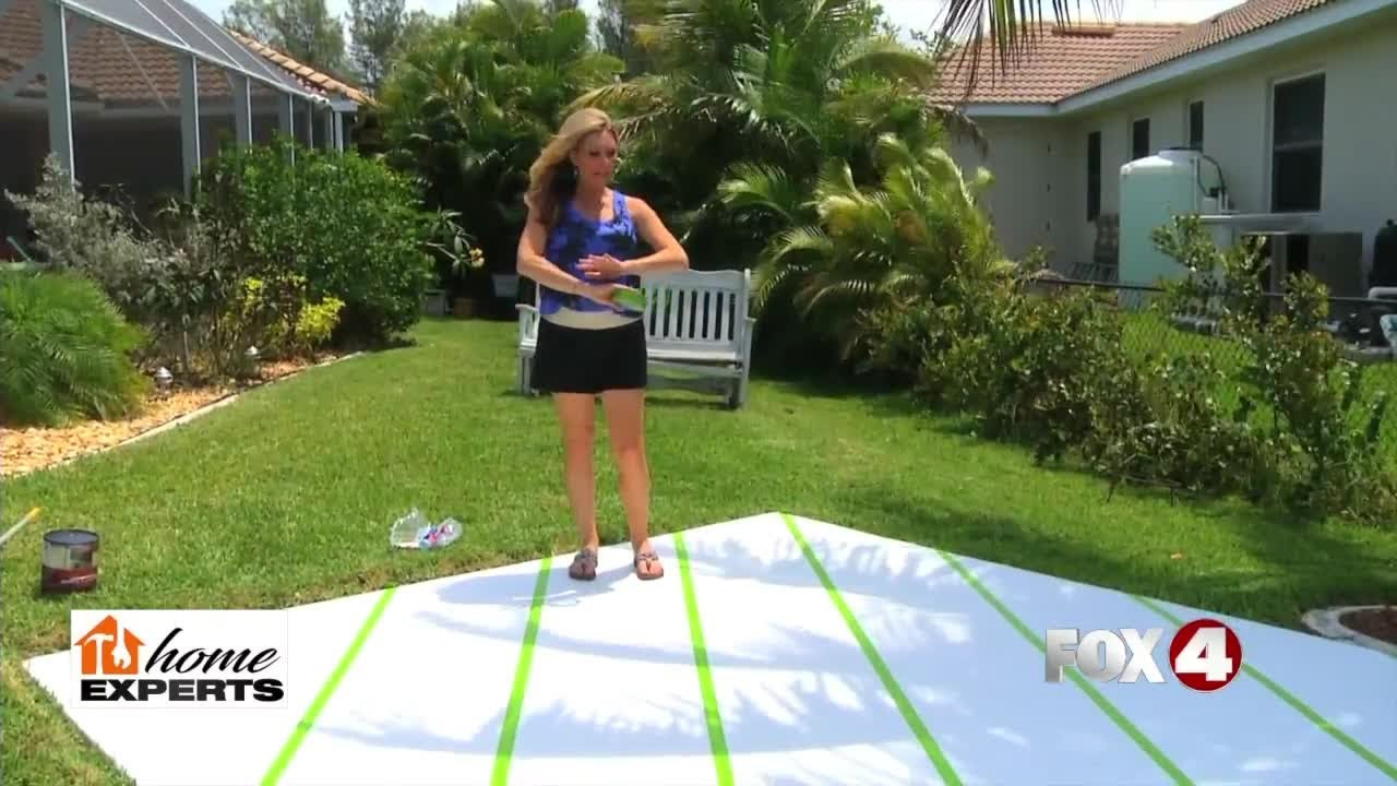 Backyard Concrete Slab Decorating Ideas Tiy Youtube