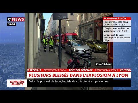 Plusieurs blessés dans l'explosion à Lyon