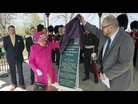 Queen Elizabeth still going strong at 90