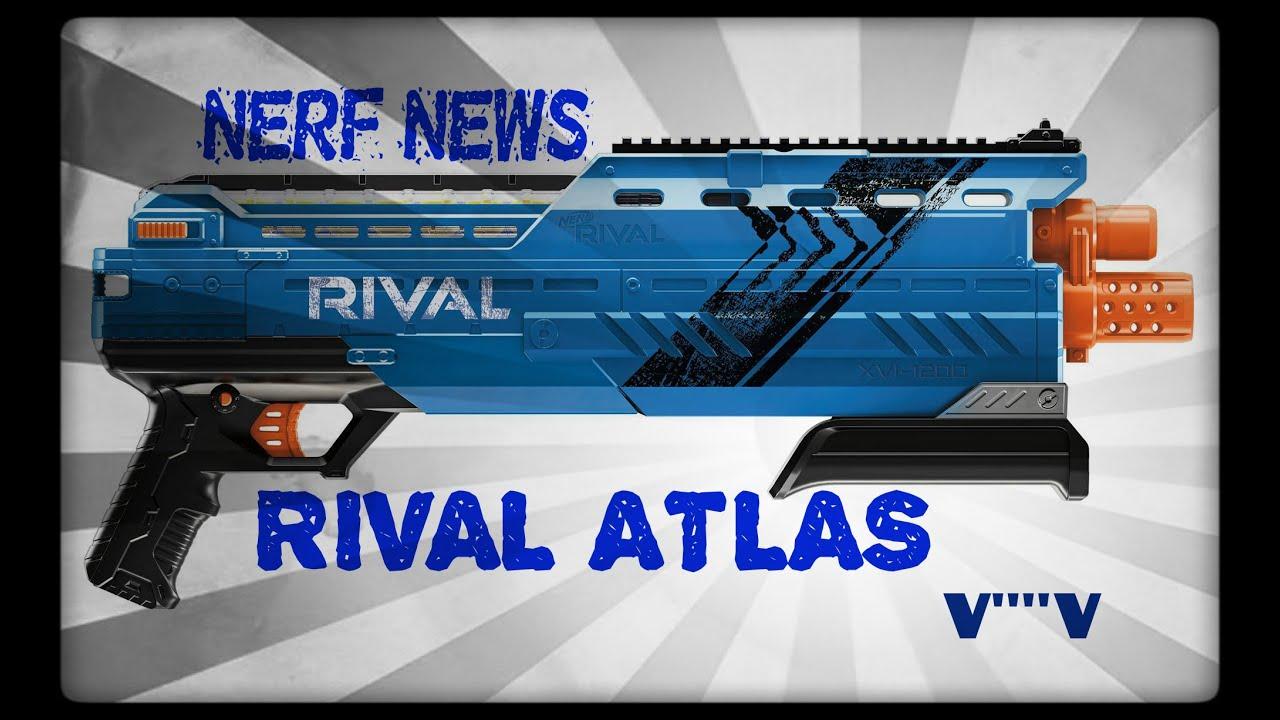 Download NERF NEWS: Rival ATLAS XVI-1200 (An Official Rival Shotgun)