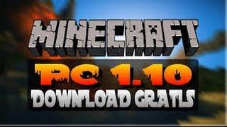 Como Baixar e instalar o minecraft 1.10 (pc) (original) grátis !!!
