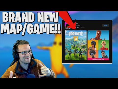 Tilted Towers Being Replaced! Brand New Map **Fortnite Chapter 2 Reveal**