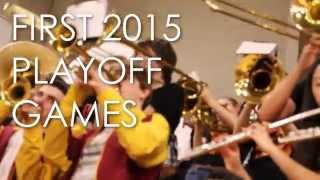 Basketball Playoff Games 2015 TJHS Pep Band