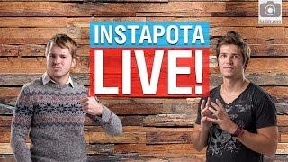 Instapota e16 Live - Онлайн трансляция(Instapota — это рубрика, в которой мы критикуем и хвалим фотографии, сделанные пользователями kaddr.com на мобильны..., 2016-05-06T14:24:36.000Z)