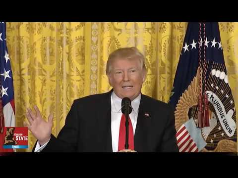 President Donald Trump Destroys Main Stream Media at Press Conference!!!