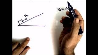 Физика .Динамика. Движение тела по наклонной плоскости- 4