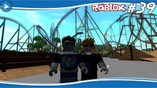 By ROLLER COASTER to PARKOUR! #39-ROBLOX