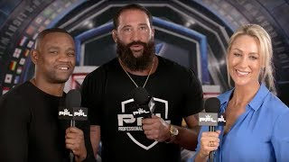 Alex Nicholson, Jordan Johnson join Yves Edwards and Caroline Pearce | PFL 3 2019 Preshow