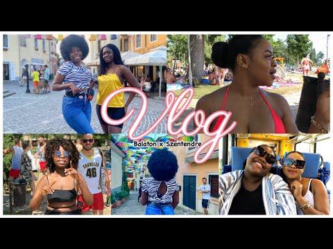 BLACK GIRLS SUMMER WEEKENDS IN HUNGARY   BALATON x SZENTENDRE   HUNGARY VLOGS 🇭🇺