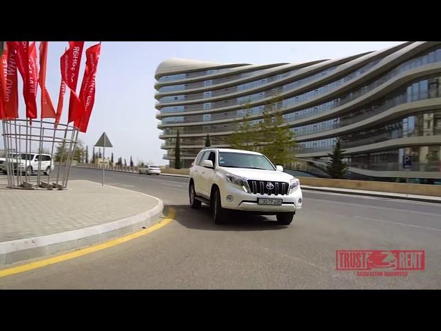 Toyota Land Cruiser / Rental cars in Baku from TRUST RENT a car Baku