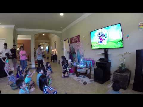 Lot of Fun at Trin's 6th Birthday Party