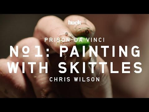 Prison Da Vinci No. 1: Painting With Skittles