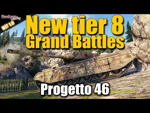 Grand Battles WOT: Carefully tier 8 play in new game mode on Nebelburg, WORLD OF TANKS