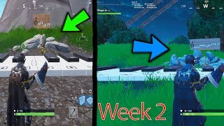 PLAY THE SHEET MUSIC ON THE PIANOS NEAR PLEASANT PARK & LONELY LODGE || Locations || Season 7 week 2