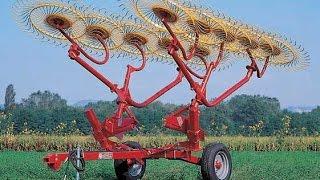Грабли колесно-пальцевые прицепные H90(, 2015-04-17T18:23:41.000Z)