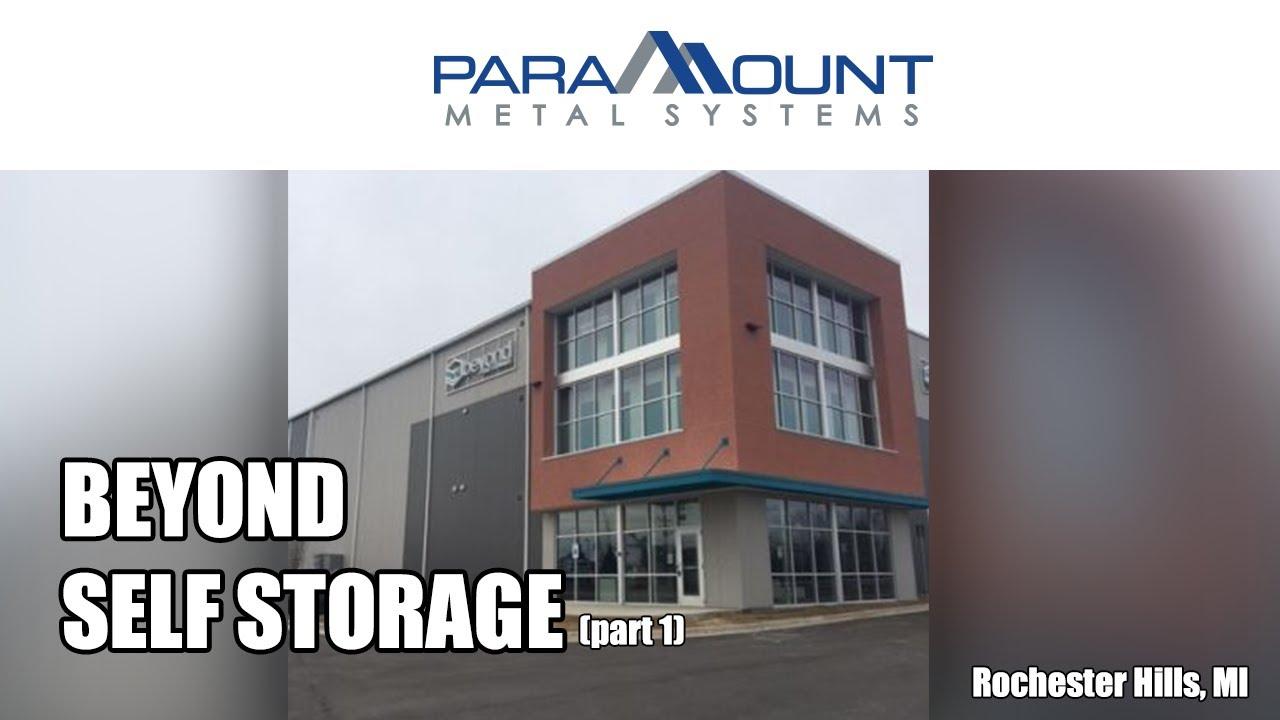 Successful Self Storage Building Development For Beyond Self Storage  Located In Rochester Hills MI