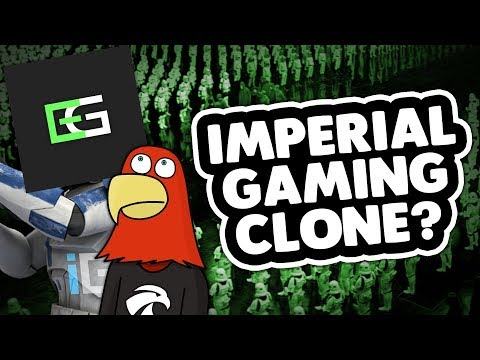 IMPERIAL GAMING CLONE?!? - (Star Wars RP Funny Moments!)