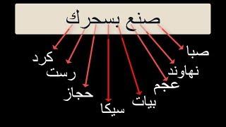 """1-مقام الصبا وشرح لأسهل طريقة لحفظ اي مقام بسهولةجدا """"Maqam Saba """"(إبداع المقامات)"""