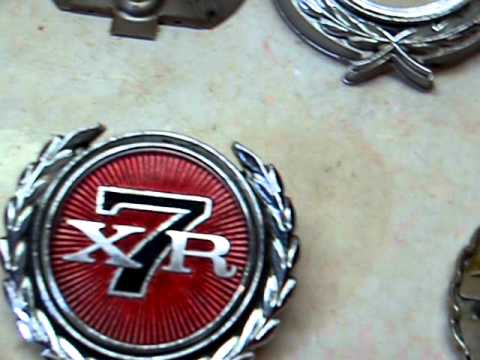 How To Restore Your 1971 73 Mercury Cougar Xr 7 Emblems Youtube