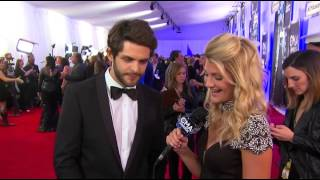 Casie Mason Interviews Thomas Rhett - 2014 CMA Awards