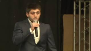 Выступление Шамиля Гадисова форуме Лакского молодежного общества
