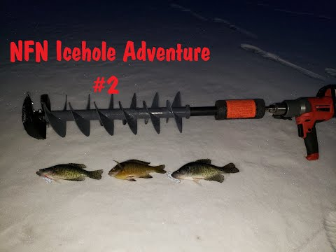 NFN Icehole Adventure #2 (Early Ice) Central Wisconsin 2019 - 2020 Ice Fishing Season