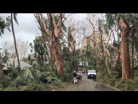 Cyclone Debbie - Hamilton Island March 2017