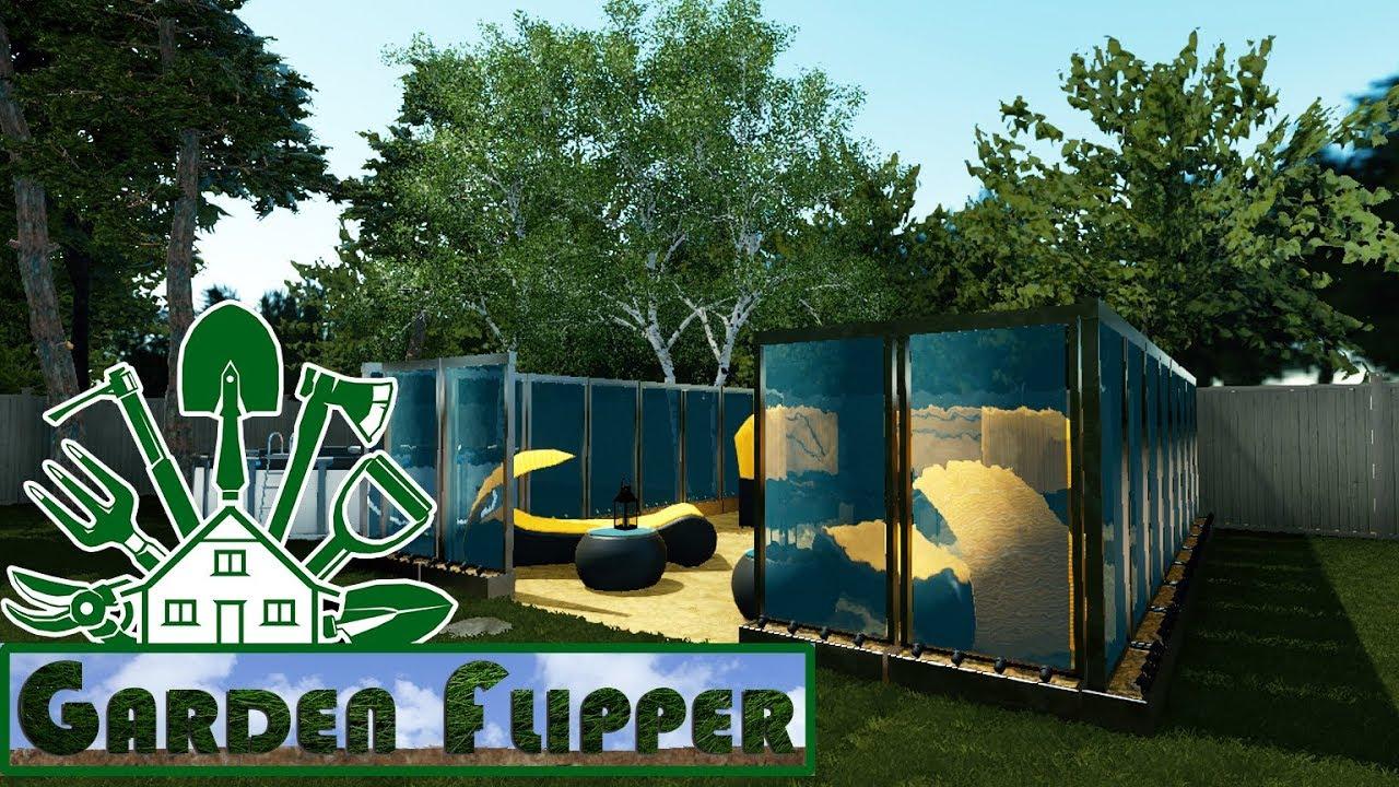 Garden Flipper 26 Kleiner Sandstrand Im Garten House Flipper Dlc Youtube