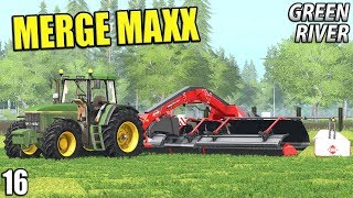 MERGE MAXX | Farming Simulator 17 | GreenRiver - Episode 16