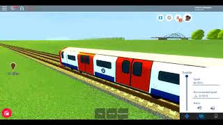 Roblox New MTG 2009 Stock Lonchester Underground Victor Line Mayton to Airport (fast)