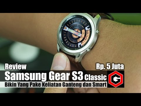 Review : Samsung Gear S3 Classic Indonesia