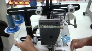 CAVEMAC - Aparelho para elástico em cuecas